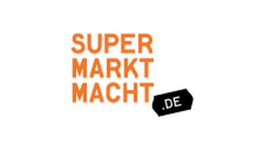 Kampagnenlogo Supermarktmacht