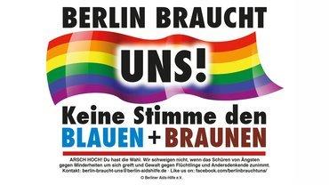 Kampagne zur Abegeordnetenhauswahl in Berlin 2016