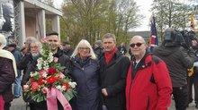 Gedenken in Sachsenhausen