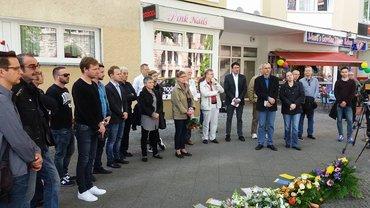 Gedenken an Magnus Hirschfel Beri9ij Charlottenburg