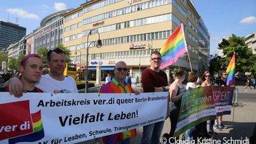 IDAHOT Demonstration in Berlin
