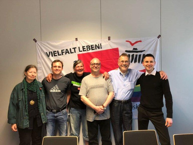 Neuwahl des Sprecher_innenteams des AK queer in ver.di Berlin/Brandenburg