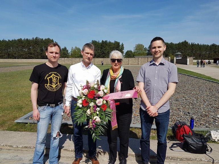 73. Jahrestag der Befreiug der Häftlinge des KZ Sachsenhausen