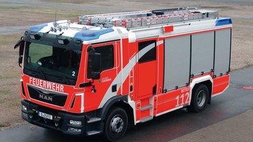 Feuerwehrwagen der Berliner Feuerwehr