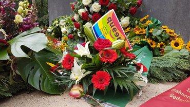 Gedenken an die im Nationalsozialismuss ermordeten Homosexuellen 2020