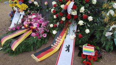 Gedenken an die im Nationalsozialismus ermordeten Homosexuellen
