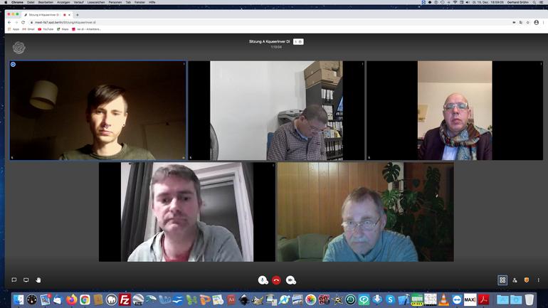 Videokonferenz des AK queer