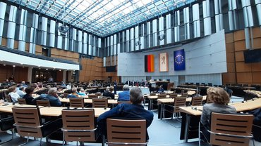 Plenarsaal des Abgeordnetenhauses in Berlin