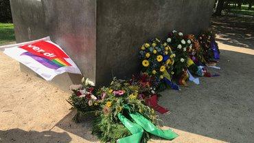 Gedenken an die im Nationalsozialismus ermordeten Homosexuellen 2021